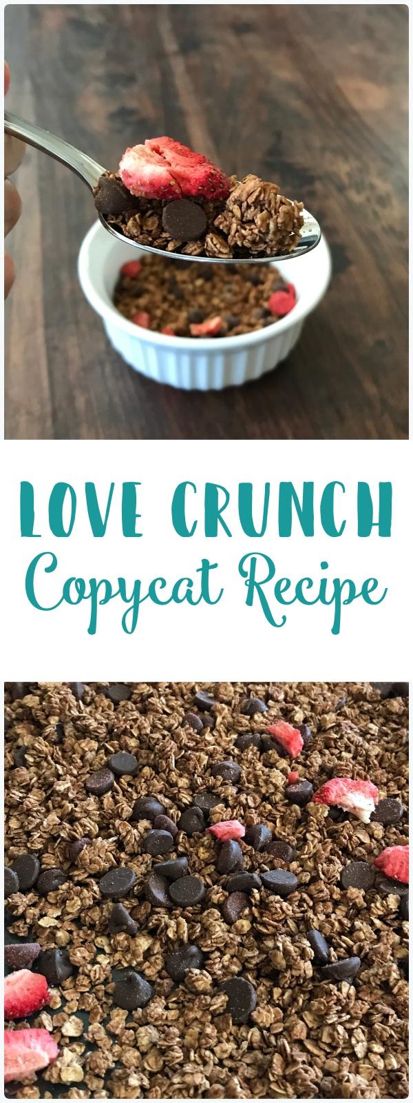 Love Crunch Copy Cat Recipe