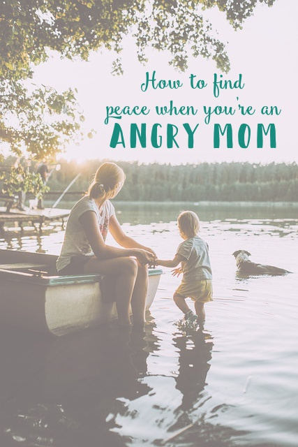 Peace angry mom thebeamingbrunette.com