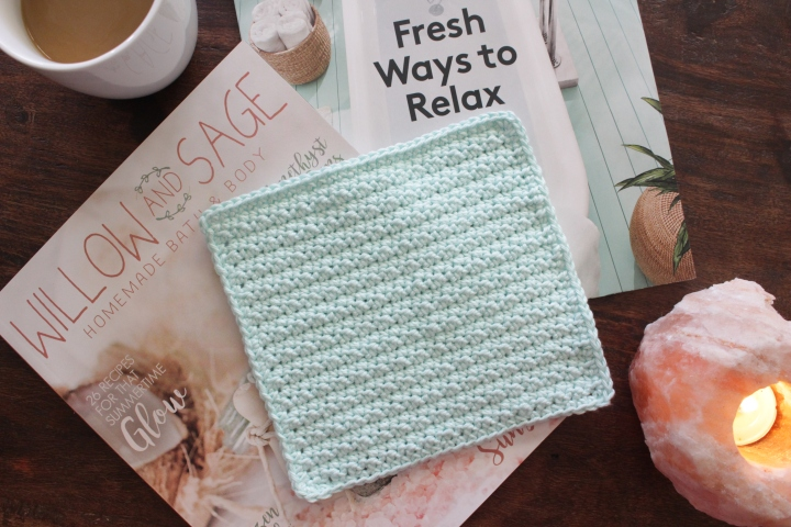 Free crochet wash cloth pattern